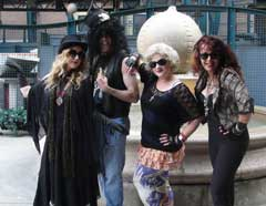 Four Rockers at Rock of Ages - Comerica Park