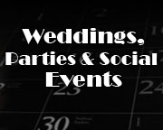 Weddings, Parties & Social Events